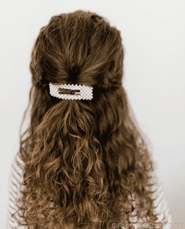 Formal Curly Hair Style