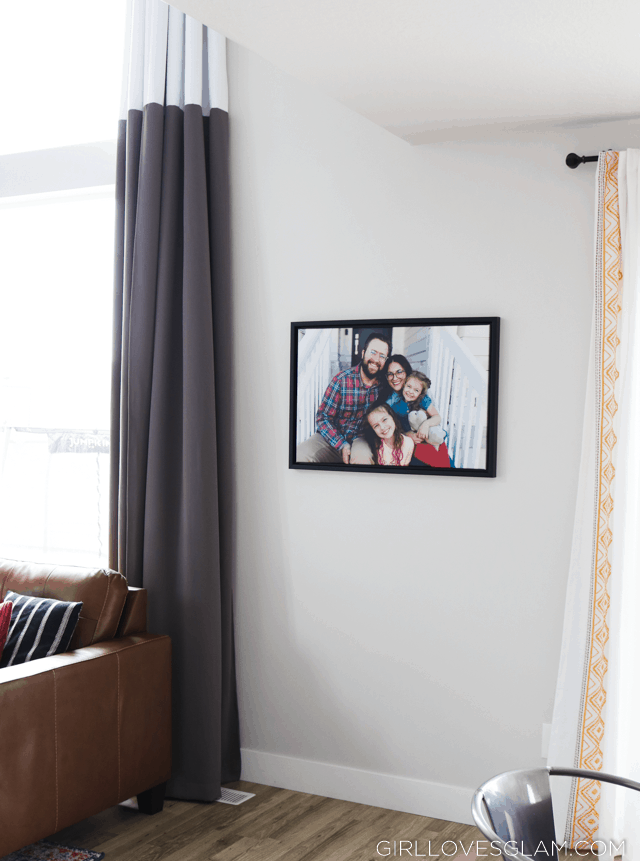 Family Picture Framed Canvas